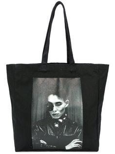 сумка-тоут с фото принтом Yang Li