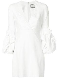 платье с V-образным вырезом Alexis