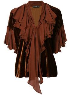 блузка с шарфом  Plein Sud