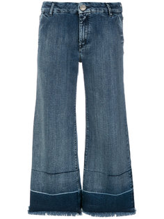 широкие укороченные джинсы  The Seafarer