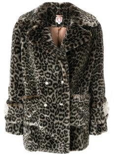 куртка с леопардовым узором и жемчужной отделкой  Shrimps