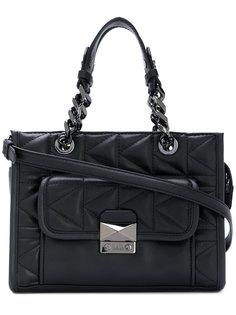 стеганая сумка-тоут Karl Lagerfeld