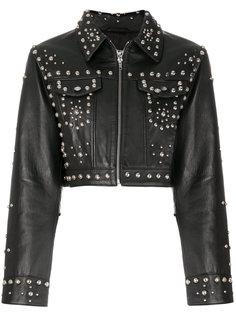 куртка с заклепками Jeremy Scott