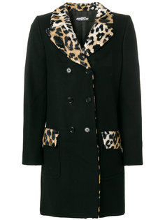 двубортное пальто Jeremy Scott