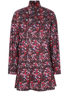 платье-рубашка с цветочным принтом Diesel Black Gold