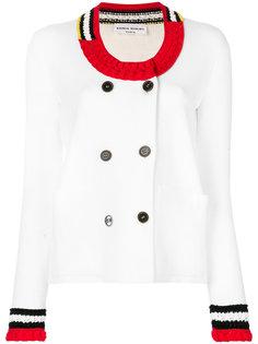 пиджак с отделкой кроше  Sonia Rykiel