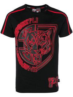 футболка с круглым вырезом и графическим принтом Plein Sport