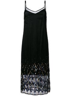 платье без застежки с пайетками Hilfiger Collection