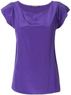 round neck loose fit blouse  Luisa Cerano