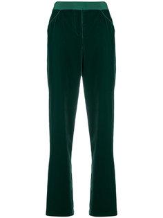 классические бархатные брюки Giorgio Armani