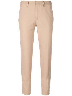 брюки с контрастной окантовкой Pt01