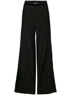 брюки с двойным поясом Valentino