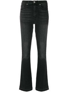 джинсы клеш с завышенной талией  Hudson