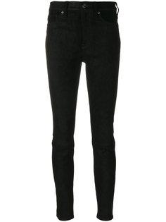 джинсы скинни с завышенной талией  Hudson