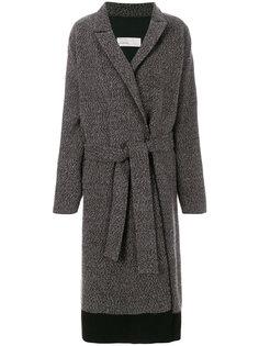 свободное пальто с поясом  Gentry Portofino