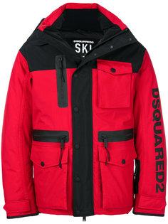 стеганый пуховик Ski Dsquared2