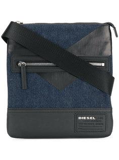 сумка на плечо с панельным дизайном Diesel