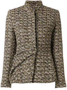 твидовый приталенный пиджак  Lanvin