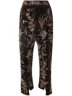 бархатные брюки Meera By Walid