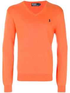 свитер с V-образным вырезом Polo Ralph Lauren