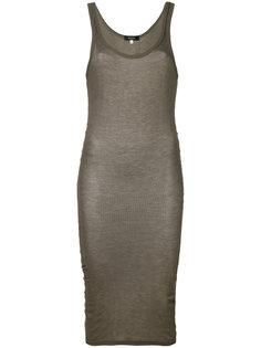 облегающее платье в рубчик Unconditional