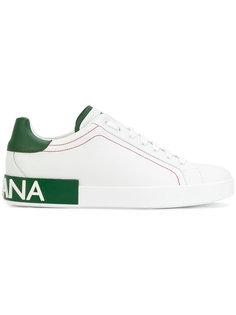 кроссовки с логотипом на подошве Dolce & Gabbana
