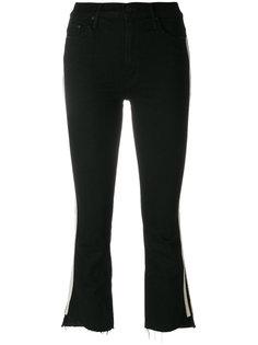 укороченные джинсы Insider с необработанными краями Mother