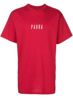 футболка с логотипом Paura