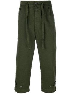укороченные брюки на шнурке Paura