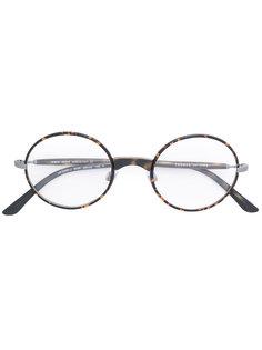 очки в круглой оправе Giorgio Armani