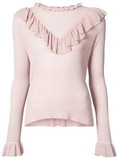 свитер с рюшами Maritza Ulla Johnson