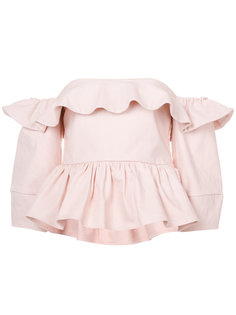 блузка с открытыми плечами Ventana  Apiece Apart