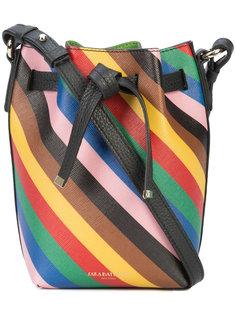 полосатая сумка через плечо  Sara Battaglia
