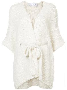 knitted cape Gabriela Hearst