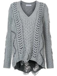 свитер с V-образным вырезом Gabriela Hearst