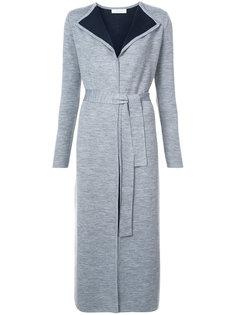 contrast lining cardigan coat Gabriela Hearst