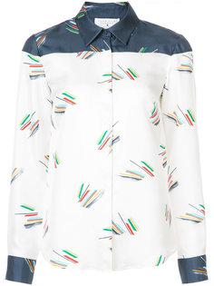 graphic contrast shirt Gabriela Hearst