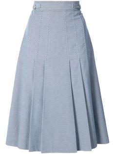 плиссированная юбка Gabriela Hearst