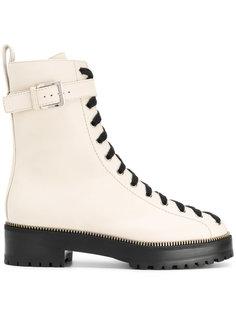 ботинки на шнуровке Sergio Rossi