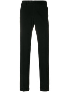 брюки прямого кроя Brioni