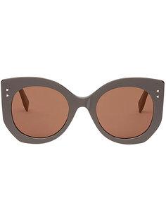 солнцезащитные очки в объемной оправе Fendi Eyewear