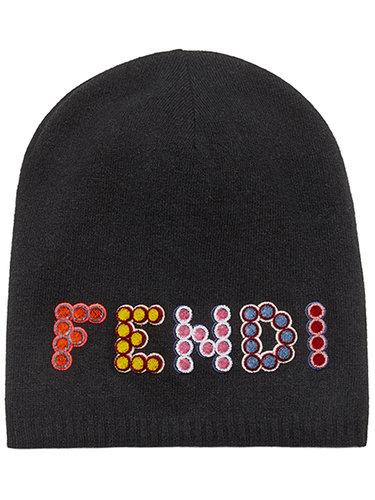 вязаная шапка 'Fun Fair' Fendi