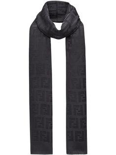 шарф с фирменным логотипом Fendi