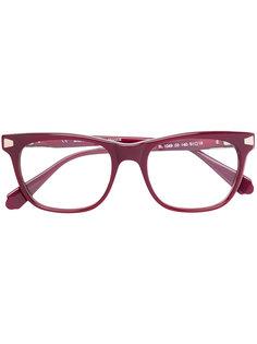 очки в трапециевидной оправе Balmain