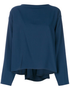 блузка со сборками Mm6 Maison Margiela