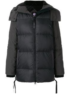 дутая куртка с капюшоном  Canada Goose