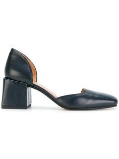 туфли-лодочки на толстом каблуке Loq