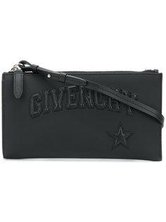 маленькая сумка через плечо с аппликацией логотипа Givenchy