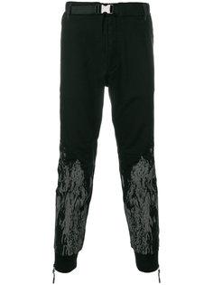зауженные брюки с абстрактным принтом Diesel