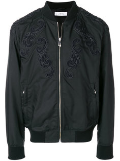 куртка бомбер с тиснением Versace Collection